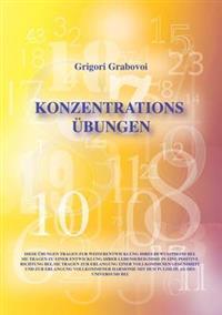 """""""Konzentrationsübungen für 31 Tage"""""""