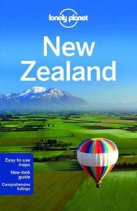 Lonely Planet New Zealand [With Pull-Out Touring Map]