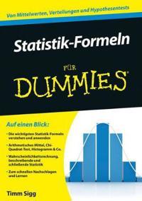 Statistik-Formeln fur Dummies