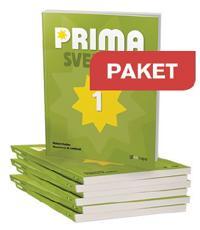Prima Svenska Paket 25 Elevbok 1+lärarwebb 1 Individlic 12 m