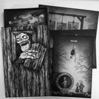 30 uhyggelige kort