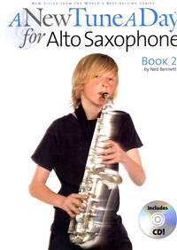 A New Tune a Day - Alto Saxophone, Book 2 [With CD]