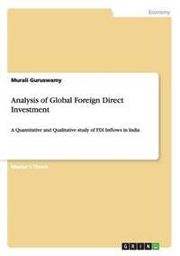 Analysis of Global Foreign Direct Investment