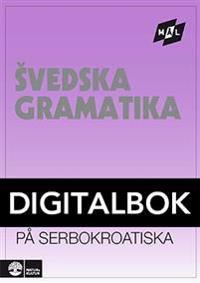Mål Svensk grammatik på serbokroatiska Digital u ljud