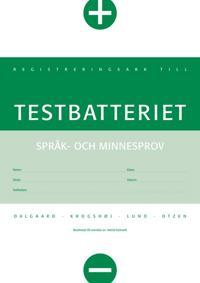 Testbatteriet EXTRA protokoll