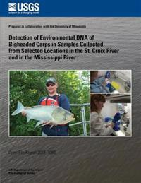 Detection of Environmental DNA of Bigheaded Carps in Samples Collected from Selected Locations in the St. Croix River and in the Mississippi River