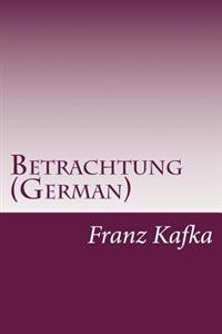 Betrachtung (German)