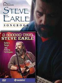 Steve Earle Guitar Pack: Includes Steve Earle Songbook (Book) and a Lesson with Steve Earle (DVD)