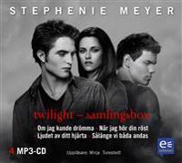 Twilight samlingsbox : Om jag kunde drömma; När jag hör din röst; Ljudet av ditt hjärta; Så länge vi båda andas