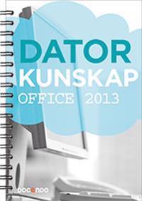 Datorkunskap Office 2013