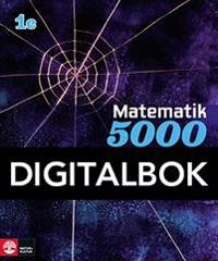 Matematik 5000 Kurs 1c Blå Lärobok Digital