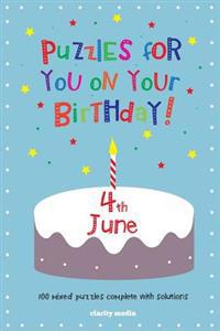 Puzzles for You on Your Birthday - 4th June