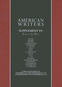 American Writers, A collection of Literary Biographies