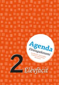 Agenda 2 Företagsekonomi Elevfacit