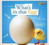 Zigzag: What's in That Egg?: A Book about Life Cycles