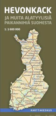 Hevonkack ja muita alatyylisiä paikannimiä Suomesta