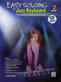 Easy Soloing for Jazz Keyboard: Book & CD