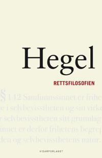 Rettsfilosofien - G.W.F. Hegel | Inprintwriters.org