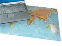 Skrivbordsunderlägg Musmatta Världen