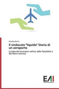 """Il Sindacato """"Liquido"""" Storia Di Un Aeroporto"""