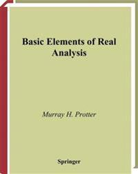 Basic Elements of Real Analysis