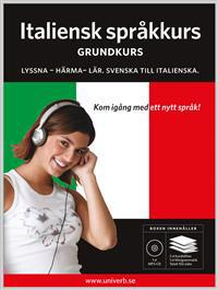 Italiensk språkkurs, Grundkurs MP3CD