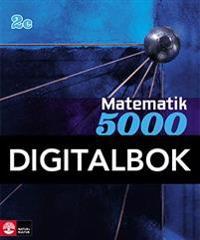 Matematik 5000 Kurs 2c Blå Lärobok Digital