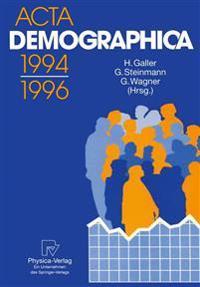 ACTA Demographica 1994-1996