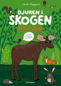 Djuren i skogen - Pysselbok : med klistermärken