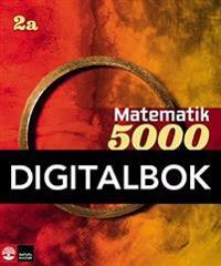 Matematik 5000 Kurs 2a Röd & Gul Lärobok Interaktiv (12mån)