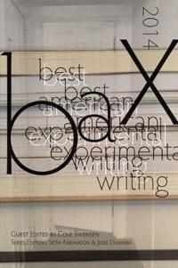 Best American Experimental Writing 2014