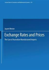 Exchange Rates and Prices