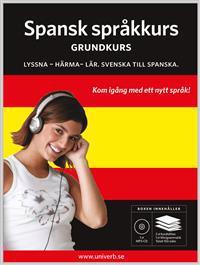 Spansk språkkurs, Grundkurs MP3CD