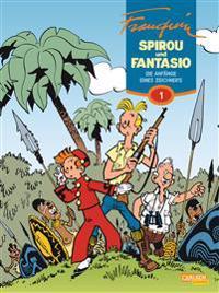 Spirou & Fantasio Gesamtausgabe 01: Die Anfänge eines Zeichners