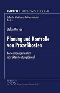 Planung Und Kontrolle Von Proze kosten