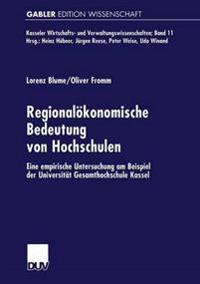 Regionalökonomische Bedeutung Von Hochschulen