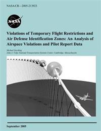 Violations of Temporary Flight Restrictions and Air Defense Identification Zones: An Analysis of Airspace Violations and Pilot Report Data