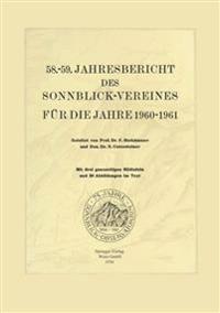Jahresbericht des Sonnblick-Vereines für die Jahre 1960-1961