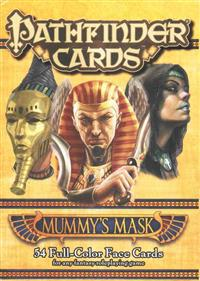Mummy's Mask Face Cards