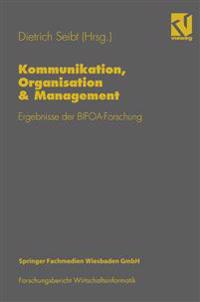 Kommunikation, Organisation & Management