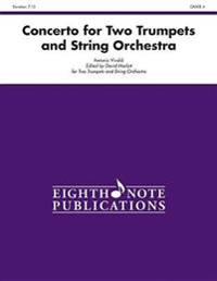 Concerto for Two Trumpets and String Orchestra: Conductor Score & Parts