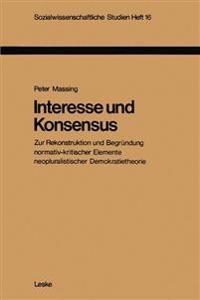 Interesse Und Konsensus
