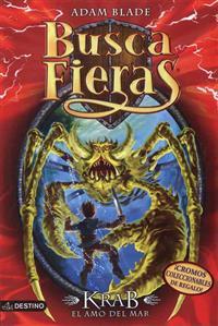 Krab, el Amo del Mar [With 4 Trading Cards] = Krabb, Master of the Sea