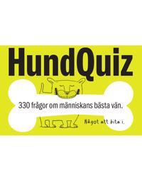 HundQuiz : 330 frågor om människans bästa vän - Något att bita i.