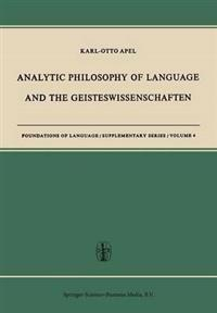 Analytic Philosophy of Language and the Geisteswissenschaften