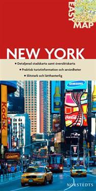 New York EasyMap stadskarta : 1:19000