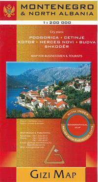 Montenegro - Albania North Geographical