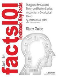 Studyguide for Classical Theory and Modern Studies