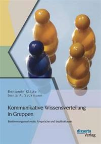 Kommunikative Wissensverteilung in Gruppen