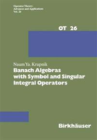 Banach Algebras With Symbol and Singular Integral Operators